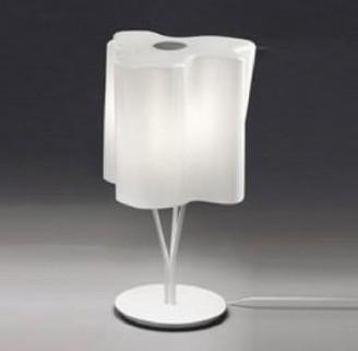 Настольная лампа, стекло белое Archie