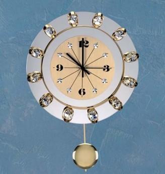 Хрустальные часы с маятником Preciosa 99 008 51