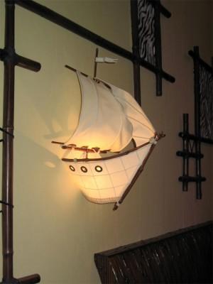 Бра бамбук Кораблик