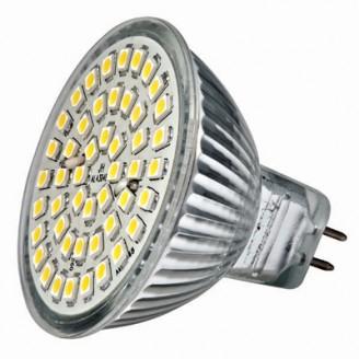 Светодиодная лампочка MR16A-48 DeLux, теплый белый 3,2w