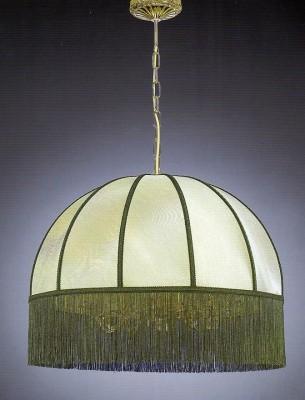 Люстра LA LAMPADA GREEN SHADE L.389/8.26 green