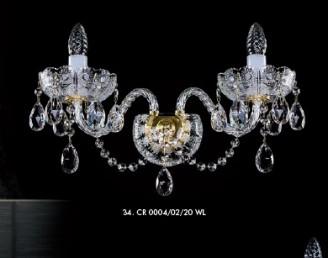 Бра хрустальное Artglass CR 0004/02/20 CE
