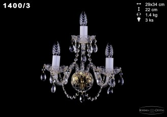 Бра Bohemia Ivele Crystal