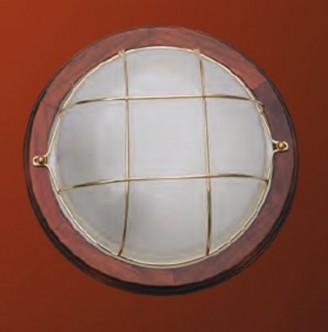 Светильник потолочный DeLux Decor MARINE DL-3114N DARK WOOD