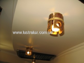 Накладной точечный светильник бамбук Ваза