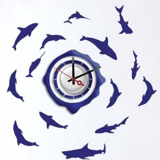 Декоративная наклейка с часами Feron NL20