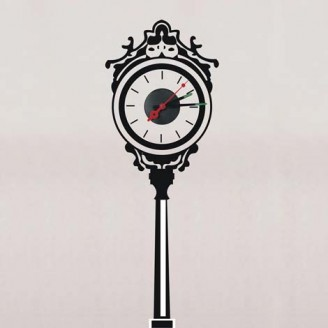 Декоративная наклейка с часами Feron NL34