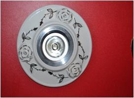 Світильник точковий галогеновий Троянда Марго - 1220-03,золото