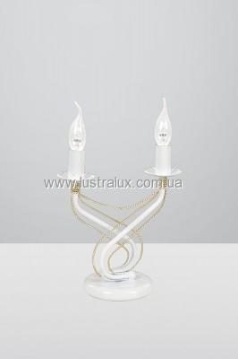 Настольная лампа Emibig Tori white 171/LN2