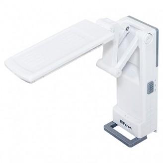 Аккумуляторная настольная лампа Feron DE1701 32LED 2.6W AC/DC белый (19.7*7.1*4.5cm)