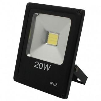 Прожектор Feron LL-847 1LED 20W белый 6400K 230V (180*140*42mm) Черный IP 65