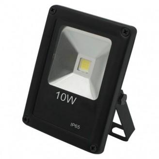 Прожектор Feron LL-846 1LED 10W белый 6400K 230V (115*85*40mm) Черный IP 65