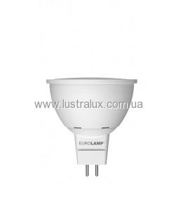 EUROLAMP LED Лампа ЕКО серія D SMD MR16 7W GU5.3 3000K LED-SMD-07533(D)