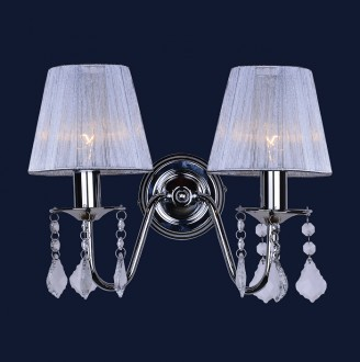 Бра China 720W4002WH-2WHSILVER