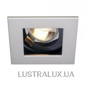 Точечный светильник SLV 112474 Indi Rec 1S GU10