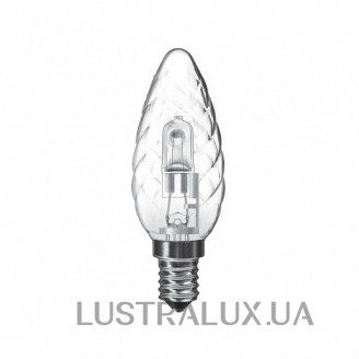 Галогенная лампа Italux Luxram Halogen Energy Saver Candle Twisted E14 28W 183114028