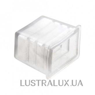 Фурнитура заглушка Feron для светодиодного дюралайта 4W 1