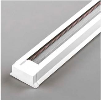 Шинопровод Feron однофазный для трековых светильников, белый 1м