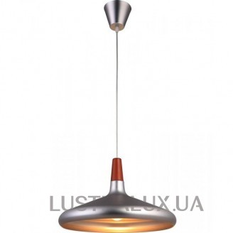 Люстра ALTALUSSE INL-9371P-21 Brushed Nickel Walnut