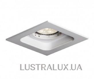 Встраиваемый точечный светильник Mistic QUAD QR111 матовый белый