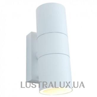 Уличный настенный светильник Arte Lamp Sonaglio A3302AL-2WH