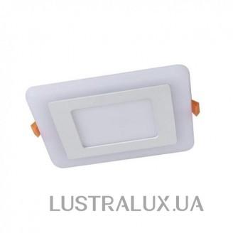 Встраиваемый светодиодный светильник Arte Lamp Vega A7509PL-2WH