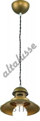 Подвесной светильник Altalusse INL-6091P-01 Brushed Gold