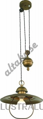 Подвесной светильник Altalusse INL-6091P-31 Brushed Gold INL-6091P-31 Brushed gold