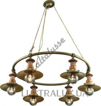 Люстра Altalusse INL-6097P-06 Brushed Gold
