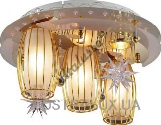 Люстра Altalusse LV218-05 White & Gold
