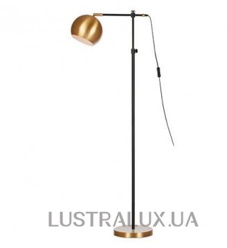CHESTER Торшер 1L Black/Bronze