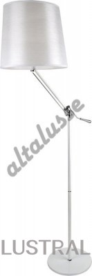 Торшер Altalusse INL-5035F-01 Chrome White