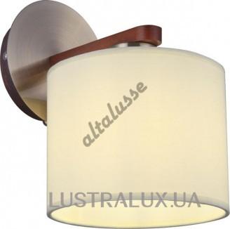 Бра Altalusse INL-9369W-01 Antique brass Walnut