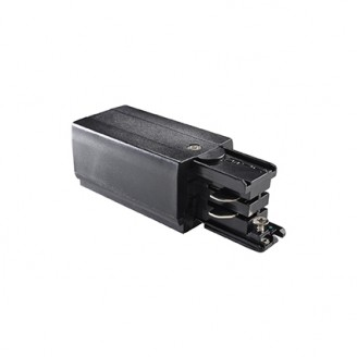 Разъем Ideal Lux LINK TRIMLESS MAINS CONNECTOR LEFT BLACK (169576)