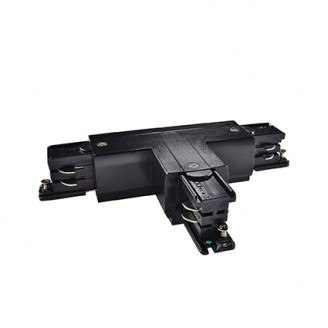 Разъем Ideal Lux LINK TRIMLESS T-CONNECTOR LEFT BLACK (169798)