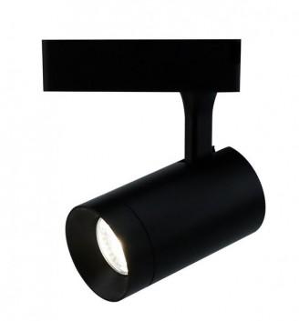 Трековый светильник свободного перемещения (на шину) Arte Lamp A1710PL-1BK