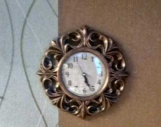 Комплект 2 зеркала+часы