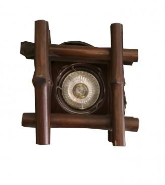 Встраиваемый точечный светильник Четырехгранник