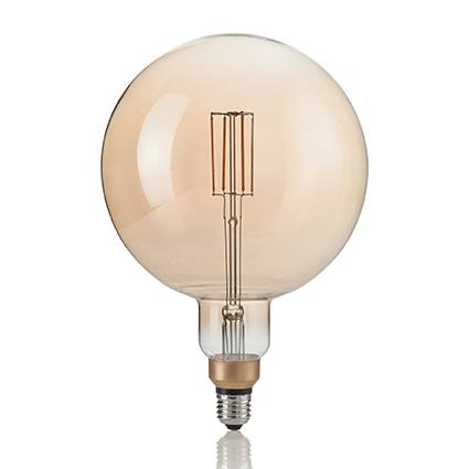 Лампа светодиодная Ideal Lux 130187 G195 4W 2200K 220V E27 LED Vintage XL