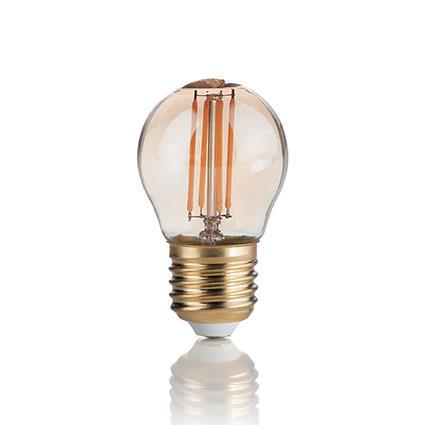 Лампа светодиодная Ideal Lux 151861 P45 3.5W 2200K 220V E27 LED Vintage