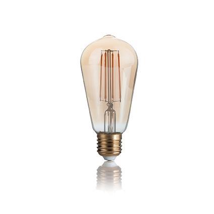 Лампа светодиодная Ideal Lux 151694 ST60 4W 2200K 220V E27 LED Vintage