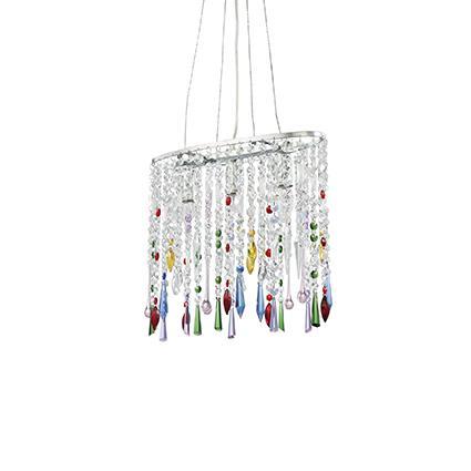 Подвесной светильник Ideal Lux Rain SP3 Color (105253)