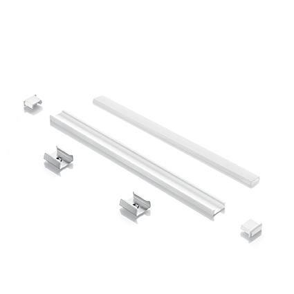 Лед профиль Ideal Lux Profilo Strip LED A Vista Bianco (124131)