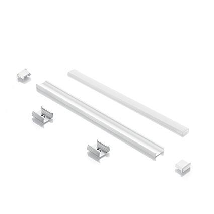 Лед профиль Ideal Lux Profilo Strip LED A Vista Bianco (124131)