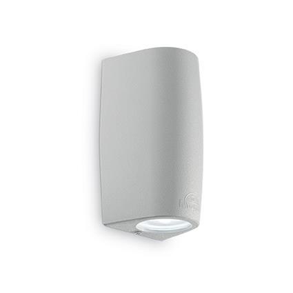 Настенный светильник Ideal Lux Keope AP2 Grigio Small 147796