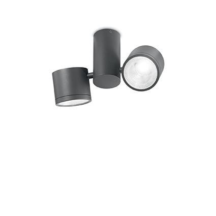 Потолочный светильник Ideal Lux SUNGLASSES PL2 ANTRACITE (161846)