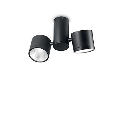 Потолочный светильник Ideal Lux SUNGLASSES PL2 NERO (161860)