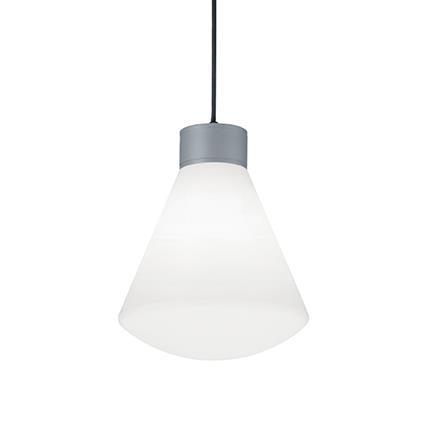 Подвесной светильник Ideal Lux OUVERTURE SP1 GRIGIO (173535)