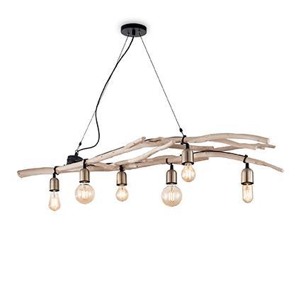 Подвесной светильник Ideal Lux DRIFTWOOD SP6 (180922)