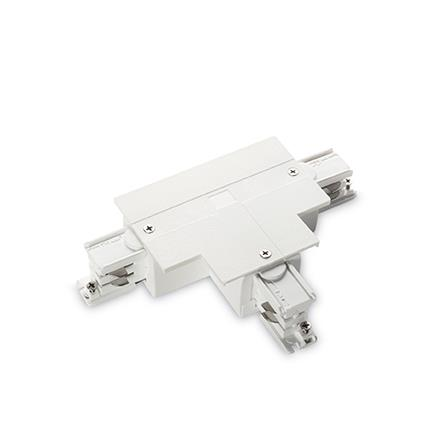 Разъем Ideal Lux LINK TRIM T-CONNECTOR RIGHT WHITE (188133)